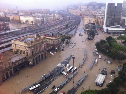 La zona di Genova Brignole